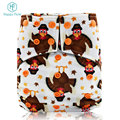 HappyFlute os baby diaper bamboo charcoal cloth diaper aio hemp washable diapers bulk