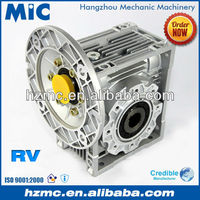 Chinese Mechanical Power Transmission NRV Series Aluminium Alloy Worm Wheel AC Motor Speed Reduction Gearbox