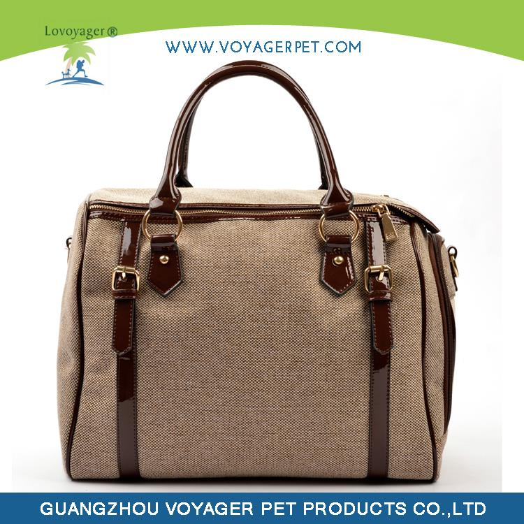Lovoyager Soft felt name brand pet carrier with low price