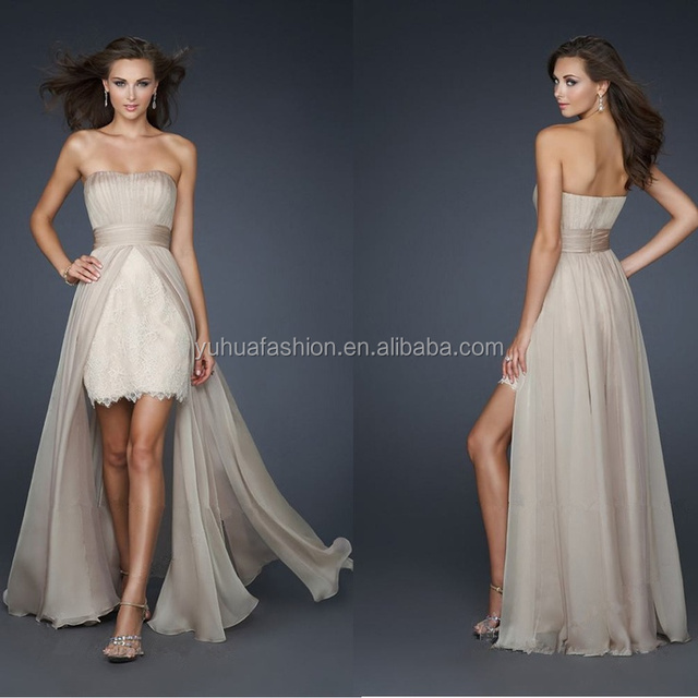 Sexy Chiffon Cocktail Prom Formal Bridesmaid Wedding Dress Party Evening Dresses