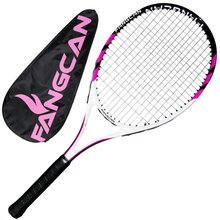 A6 Carbon Aluminum Composite Adult 320g Training Tennis Racket