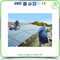 Special customized hot sale mobile home solar system