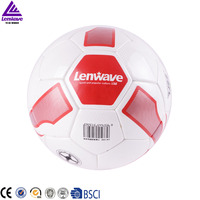 Lenwave soccer ball pu leather professional official 5# pu soccer