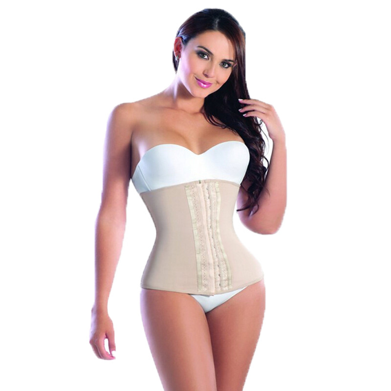 100% latex corset Men and Women Body Shaper Plus Size Corsets Waist Trainer Waist Training Corsets Sexy Vest