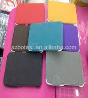 Macadam line Leather case for ipad mini/Samsung P3100 with dormancy function