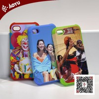 China wholesale printing plastic mobile phone cover/customize phone case FACTORY OUTLET(have different size)