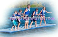 2012(QiLing) colorful hot-sale inflatable water runway