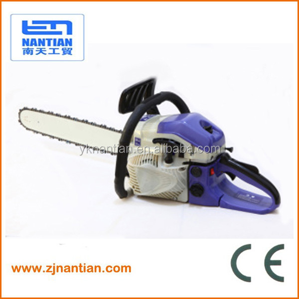 58CC Gasoline chainsaw 5800 with 18'' 20'' 22' guide bar