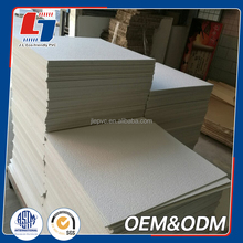 High density cabinet insulation waterproof foam board pvc sheet for thermoforming