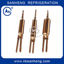 Refrigeration Welding Copper Three Way Welding Filter Drier