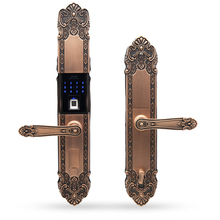Luxury Slam Chain Alarm Code Sensor Electronic Door Lock