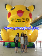 giant inflatable Pikachu model inflatable advertising