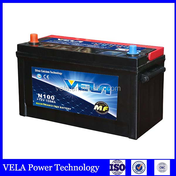 auto <strong>battery</strong> <strong>n100</strong> 12v 100ah