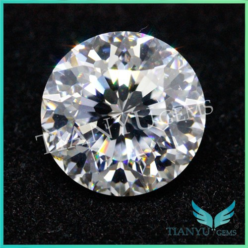 2015 Shining Best Fake Diamonds Synthetic Semi-precious100 facets Cubic Zirconia Jewelry Original Stone For Wax Setting