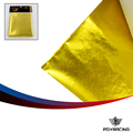 PQY- SELF ADHESIVE REFLECT-A-GOLD HEAT WRAP BARRIER High Quality 39in.x 47in.Piece For VW PASSAT AUDI A4 B6 With PQY Card -1614