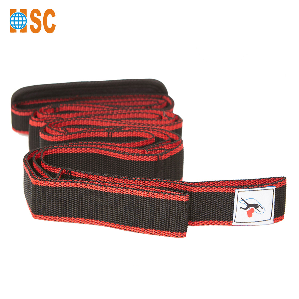 209 x 4cm Pilates Exercise Fitness Band Stretching Yoga Strap