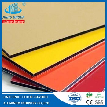 high quality 4mm pvdf aluminum composite panel acp/acm price in factory