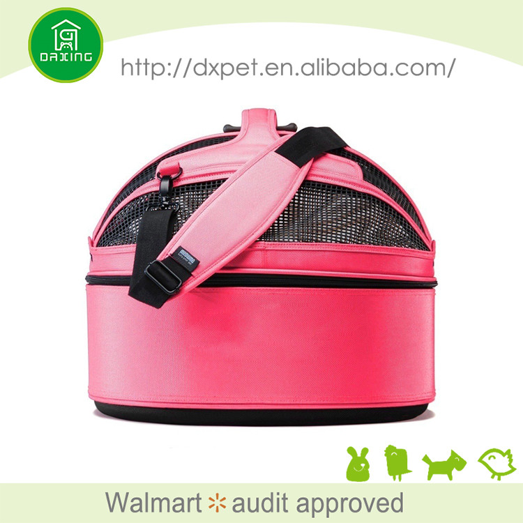 DXPB029 Sling fashion outdoor popular pet product small sherpa pet carrier