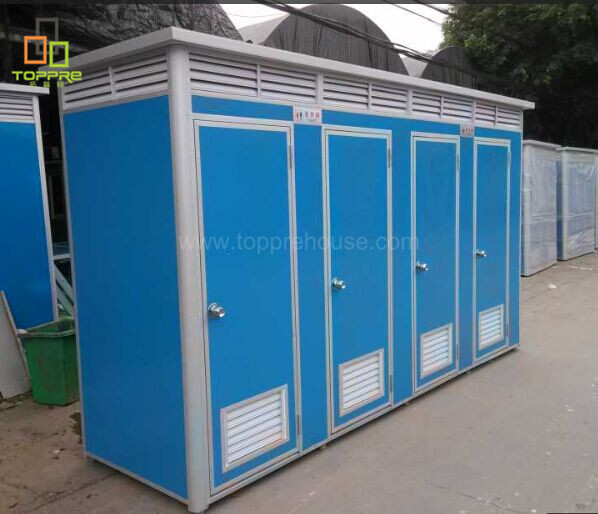 Mobile toilets portable toilet with trailer for mobile prefabricated public toilet mobile shower