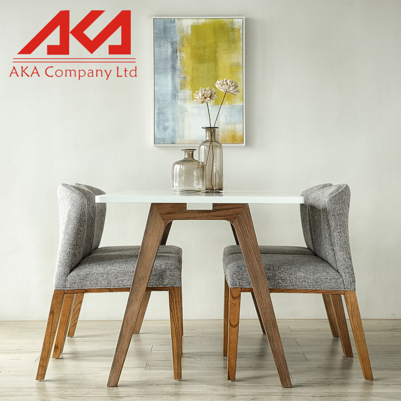 Modern simple furniture MDF dining table import furniture from china