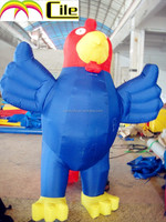 CILE 2015 hot selling custom inflatable big rooster model (advertising, sales promotion, simulator, events)
