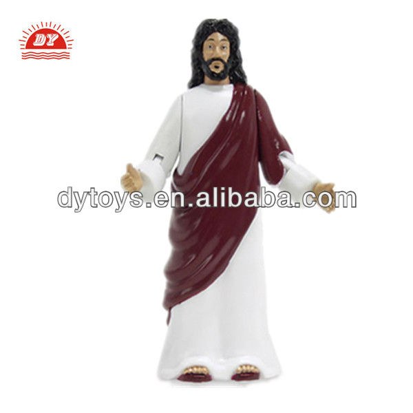 ICTI toy manufacturer custom make plastic Jesus action figure hot toy
