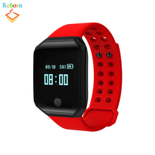 0.95 Inch Shenzhen Screen Touch Bluetooth Sport Fitness Tracker Z66 Smart Bracelet