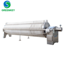 Small sludge dewatering machines cotton cake honey filter press price