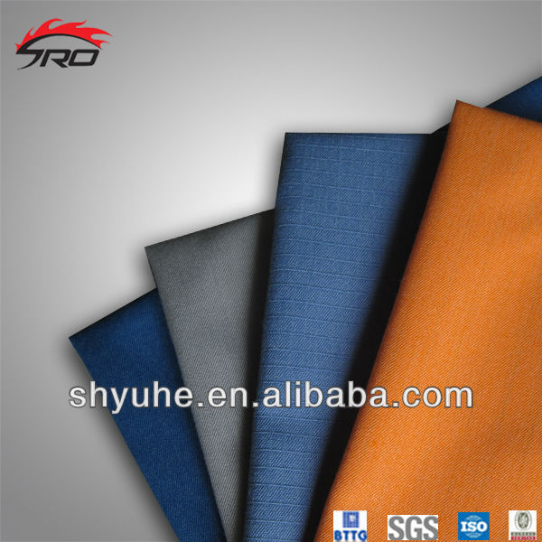 98% meta aramid 2% anti-static fiber fabric for oil and gasoline workwear
