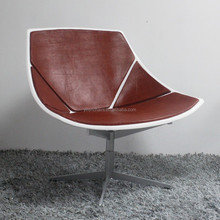 coconut Chaise Chair/ikea living room home furniture/leather seat chaise lounge