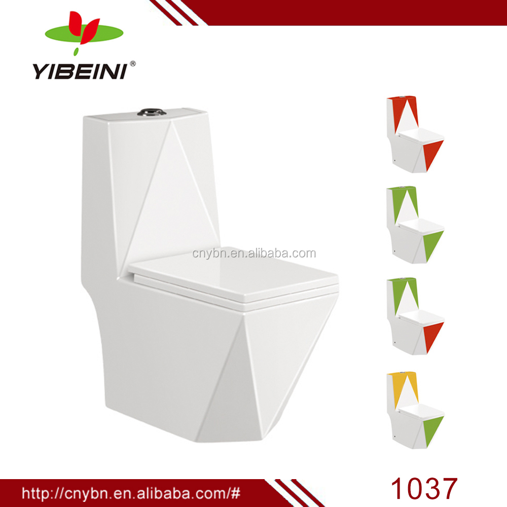 chaozhou bathroom ceramic toilet one piece color toilet