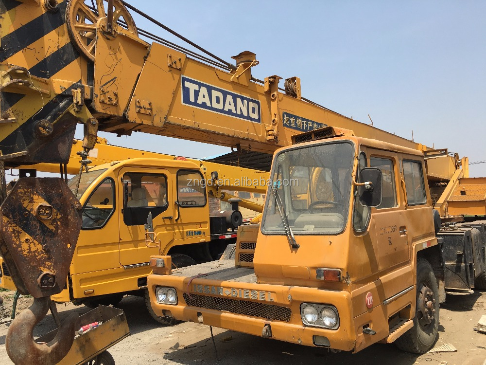 used truck crane Tadano 25 ton with 2 and 3 fly booms in Shanghai