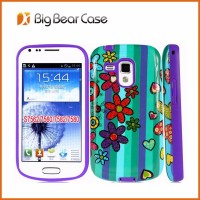 Combo 2 in 1 back case cover for samsung galaxy s duos s7562