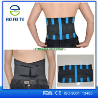 2016 NEW Metal Stays Breathable Lower Back Support Brace