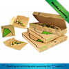 Wholesale square shape custom made pizza packaging box