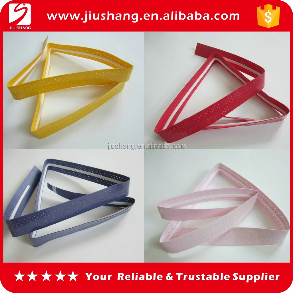 Factory supply PU badminton racket sweatband promotion