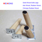 High Quality Cheaper Replacement wood legs option beech,Ash,Rubber and oak Wood sofa legs furniture leg wood