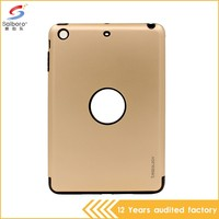 High quality shockproof two in one for ipad mini hybrid case