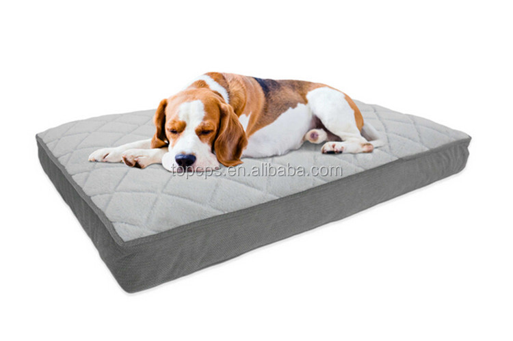 Luxury dog product/Shredded memory foam dog mat