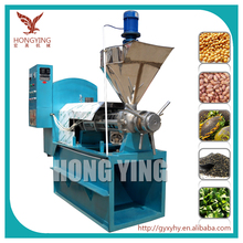 henan nut&seed oil expeller oil press/soybean processing equipment/homemade soybean oil press