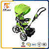 360-degree rotating baby tricycle mamde in china for sale