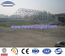 Heavy Duty Fabric Covered Galvanized Steel Building Tent