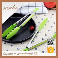 kitchen cooking utensils stainless steel silicone industrial tong