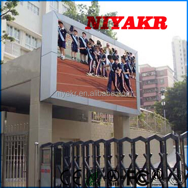 2015 new china xxx video/alibaba xxx movie hd p10 pretty vision advertising led full color outdoor display screen