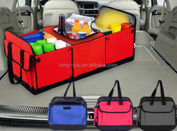 multi-function back seat tray car boot organizer bag
