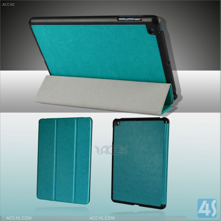 For iPad Mini Case Folding Book Leather Cover P-iPDMINICASE135