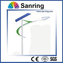 sanring 40w 24V DC solar power street light with single arm LED lamp