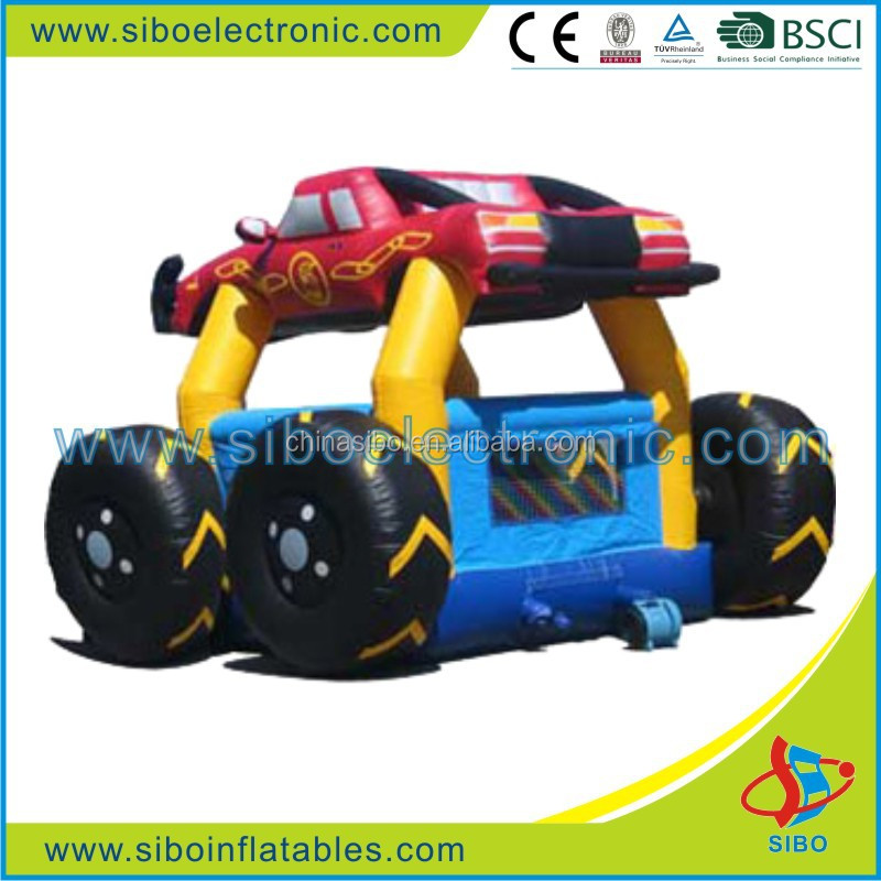 GMIF6242 outdoor playing appliance kids jumping toys inflatable car for child