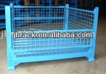 wire mesh stackable foldable container