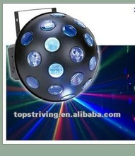 NIGHT CLUB LIGHT with 19 beams projecting led stage performance lights VERTIGO II